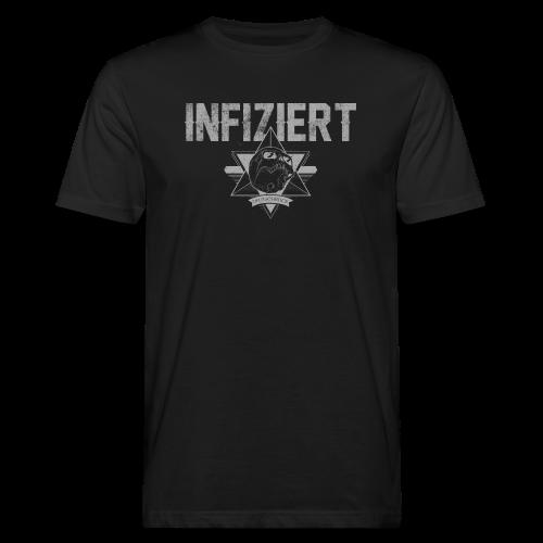 Infiziert2019 - Männer Bio-T-Shirt