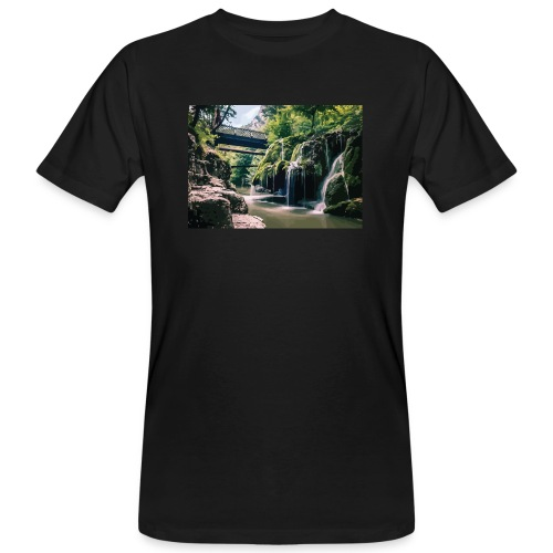 bigar waterfall - Men's Organic T-Shirt