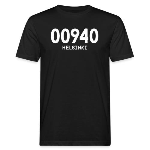 00940 HELSINKI - Miesten luonnonmukainen t-paita
