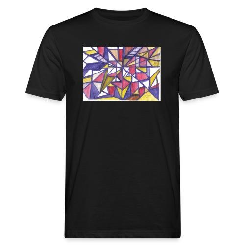 Flickenteppich - Männer Bio-T-Shirt