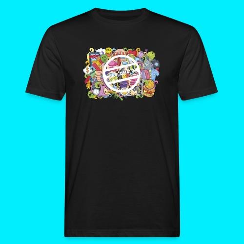 maglia logo doodle - T-shirt ecologica da uomo