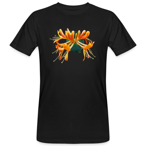 TIAN GREEN Garten - Geißblatt 2020 01 - Männer Bio-T-Shirt