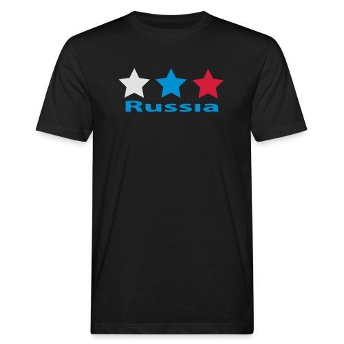 stars_russia - Männer Bio-T-Shirt