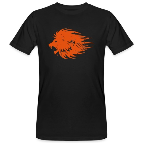 MWB Print Lion Orange - Men's Organic T-Shirt