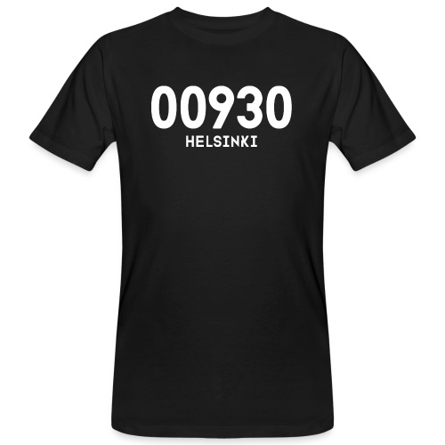 00930 HELSINKI - Miesten luonnonmukainen t-paita