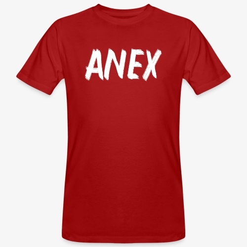 T-Shirt Anex white logo - Men's Organic T-Shirt