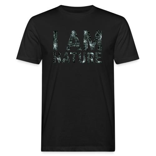 I am Nature - Männer Bio-T-Shirt