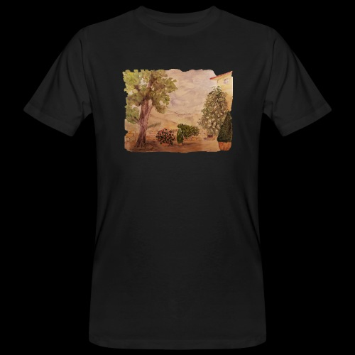 Hinterhof - Männer Bio-T-Shirt