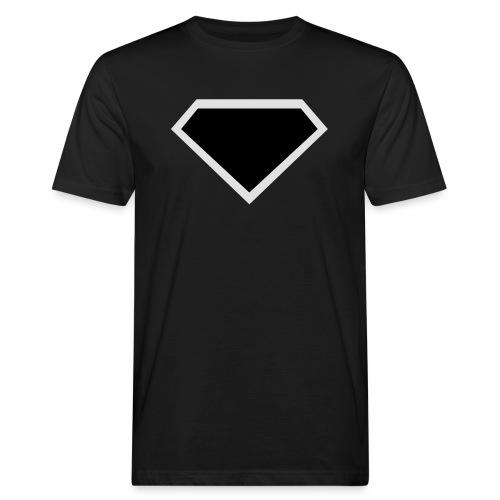 Diamond Black - Two colors customizable - Mannen Bio-T-shirt