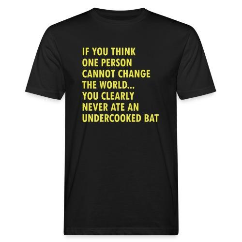 Undercooked bat - Men's Organic T-Shirt