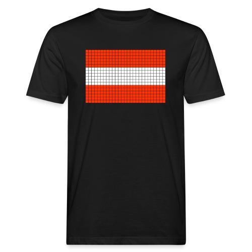 austrian flag - T-shirt ecologica da uomo