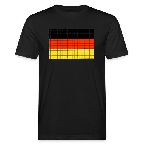 german flag.png - T-shirt ecologica da uomo