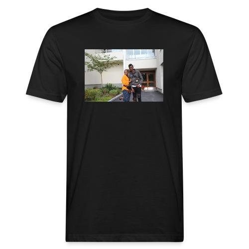 ishaa aziiz - Ekologisk T-shirt herr