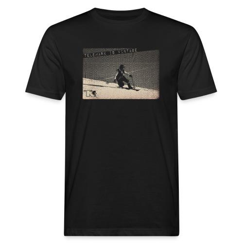2017 Telemark Vintage Jean Louis - T-shirt bio Homme