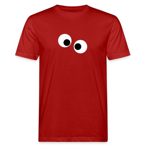 silly eyes - Mannen Bio-T-shirt