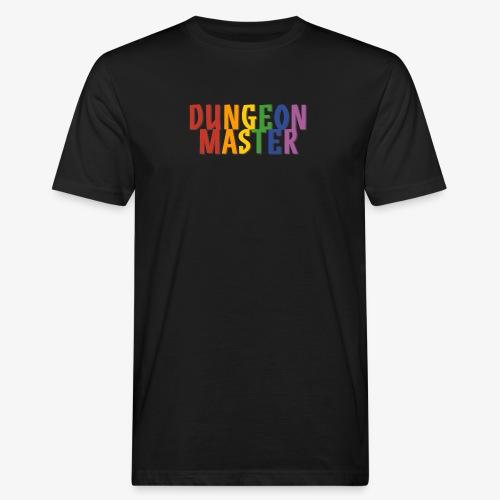 Dungeon Master Pride (Rainbow) - Men's Organic T-Shirt