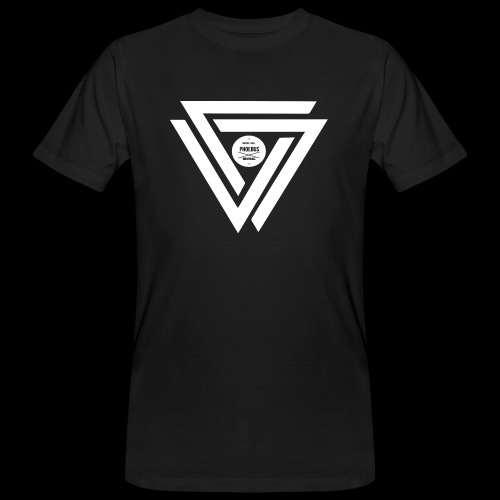 08 logo complet withe - T-shirt bio Homme