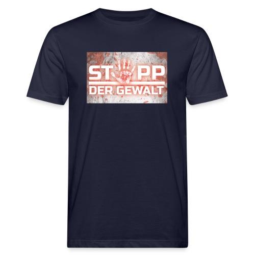 STOPP DER GEWALT - Men's Organic T-Shirt