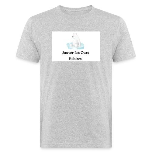 Sauver Les Ours Polaires - T-shirt bio Homme