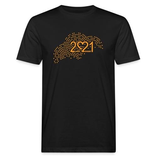 2021 logo t skjorte - Økologisk T-skjorte for menn