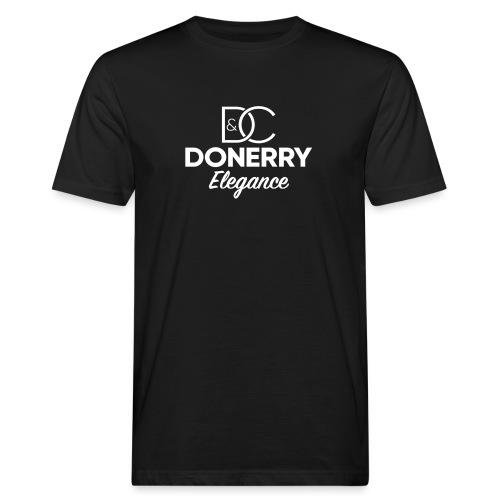 Donerry Elegance NEW White on Dark - Men's Organic T-Shirt