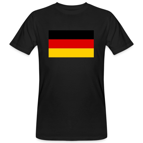 2000px Flag of Germany svg - Männer Bio-T-Shirt