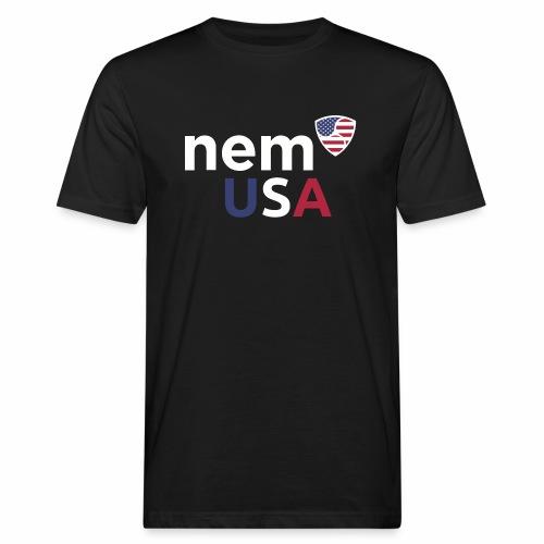 NEM USA white - T-shirt ecologica da uomo
