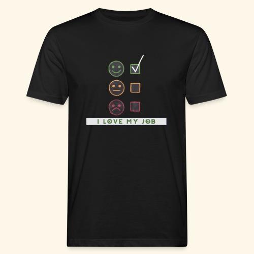 Job Berufung Leben - Männer Bio-T-Shirt