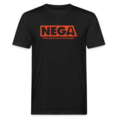 Kapea peruslogo Miehet - Miesten luonnonmukainen t-paita