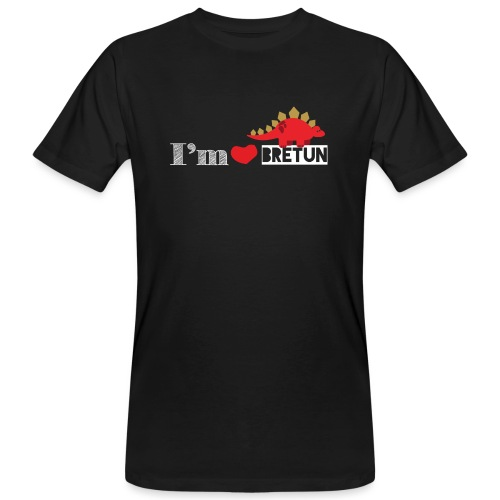 IM CORAZON BRETUN - Camiseta ecológica hombre