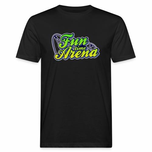 FunTime Schienen Front - Männer Bio-T-Shirt