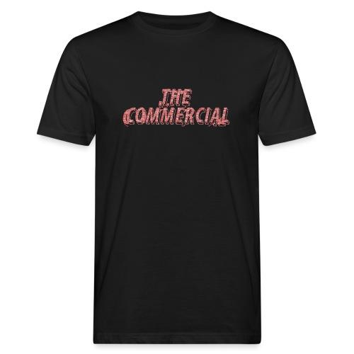 The Commercial #2 (Salmon Long Strokes) - Men's Organic T-Shirt