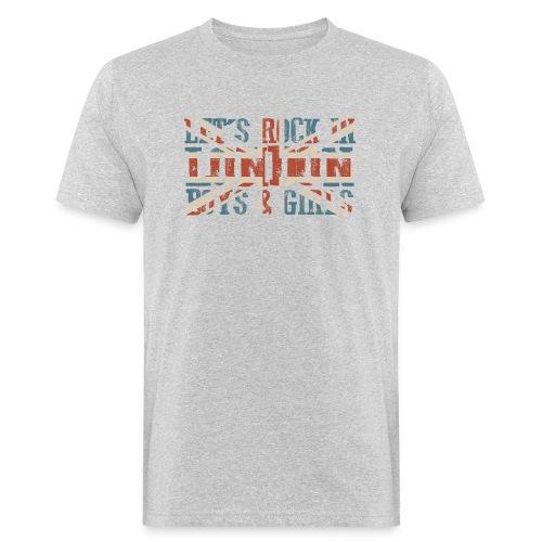 LET'S ROCK IN LONDON - T-shirt ecologica da uomo