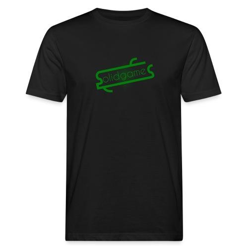 Solidgames Crewneck Grey - Men's Organic T-Shirt