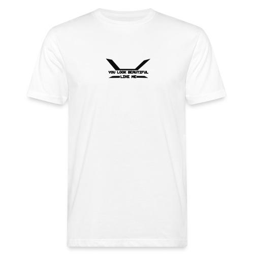 Napido You look beatiful like me - Miesten luonnonmukainen t-paita