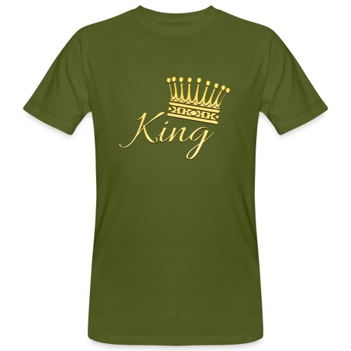 King Or by T-shirt chic et choc - T-shirt bio Homme