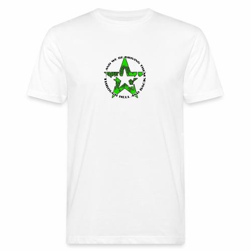 ra star slogan slime png - Männer Bio-T-Shirt