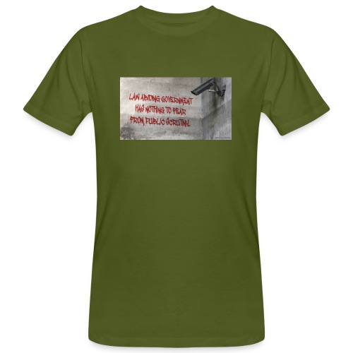 Nothing to Fear - Men's Organic T-Shirt