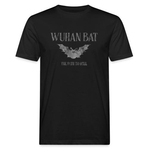 Wuhan bat design - Mannen Bio-T-shirt