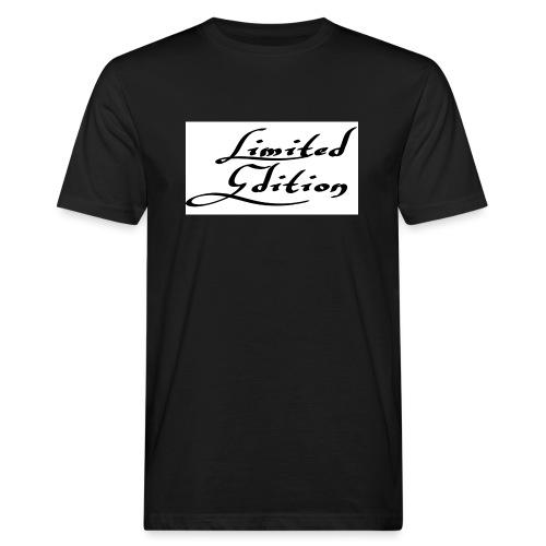 Limited edition - Miesten luonnonmukainen t-paita