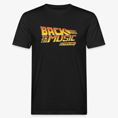 Back to the music Vinyl Edit - T-shirt bio Homme