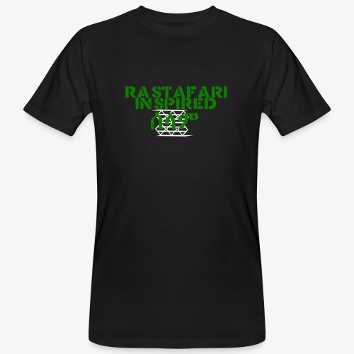Inspired Rastafari - Men's Organic T-Shirt