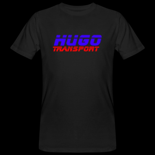 hugotransportfullrestransparent - Mannen Bio-T-shirt