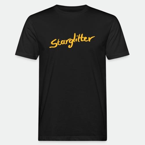 Starglitter - Lettering - Men's Organic T-Shirt