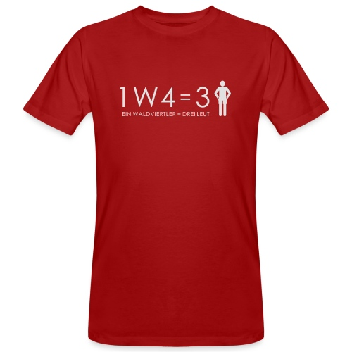 Teddy - Männer Bio-T-Shirt