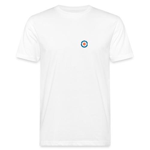 La Ruleta Rusa Radio Rock, Landscape White - Camiseta ecológica hombre