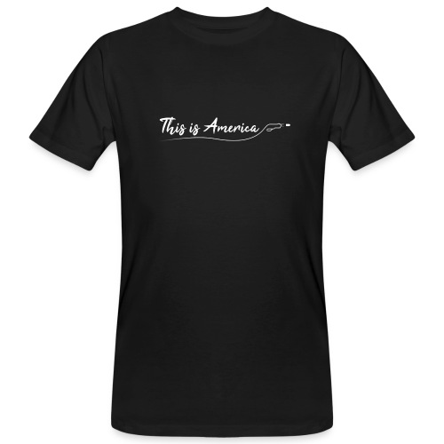 This is America - Gun violence - T-shirt bio Homme