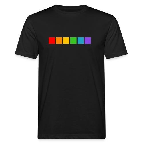 regnbue firkanter - Organic mænd