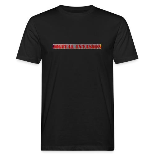 digitale Invasion - Männer Bio-T-Shirt