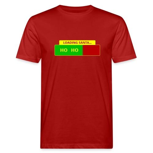 Loading Santa - Miesten luonnonmukainen t-paita